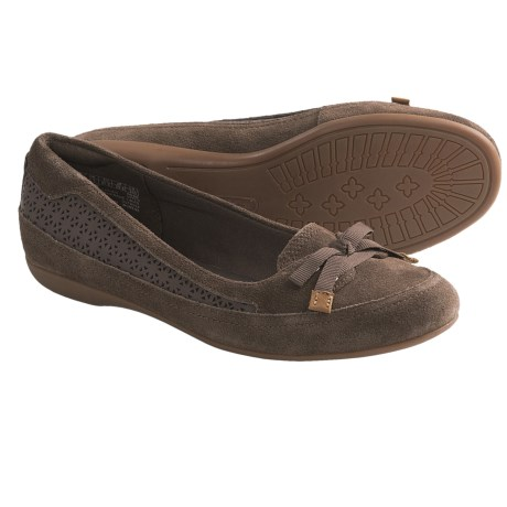 Timberland Earthkeepers Falmouth Ballerina Shoes - Suede (For Women) in Dark Brown