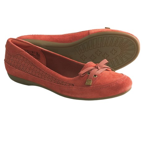 Timberland Earthkeepers Falmouth Ballerina Shoes - Suede (For Women) in Dark Red