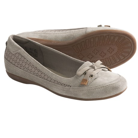 Timberland Earthkeepers Falmouth Ballerina Shoes - Suede (For Women) in Off White
