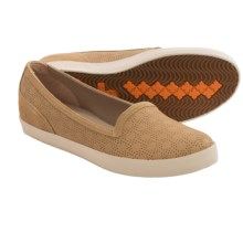 Timberland Earthkeepers Glastenbury Perforated Slip-On Shoes - Recycled Materials (For Women) in Light Tan - Closeouts