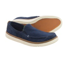 Timberland Earthkeepers Hookset Handcrafted Shoes - Slip-Ons (For Men) in Navy - Closeouts