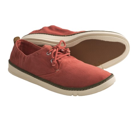 Timberland Earthkeepers Hookset Oxford Shoes - Canvas (For Men) in Red