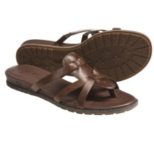 Timberland Earthkeepers Kennebunk Thong Sandals - Leather (For Women) in Dark Brown - Closeouts