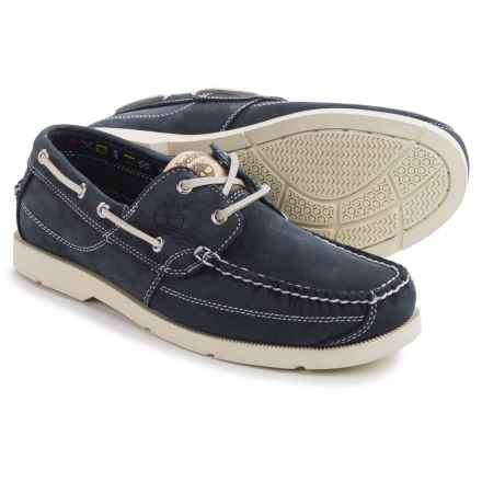 Timberland Earthkeepers Kia Wah Bay Boat Shoes - Nubuck (For Men) in Blue - Closeouts