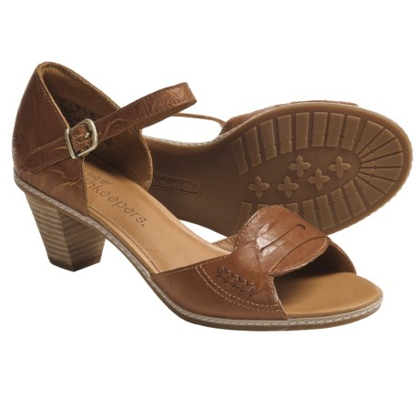 Timberland Earthkeepers Montvale Sandals - Leather (For Women) in Rust