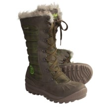Timberland Earthkeepers Mount Holly Tall Boots - Waterproof, Insulated (For Women) in Dark Grey - Closeouts