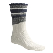 Timberland Earthkeepers Multi-Band Socks - Recycled Materials (For Men) in Navy - Closeouts