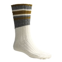 Timberland Earthkeepers Multi-Band Socks - Recycled Materials (For Men) in Wheat - Closeouts