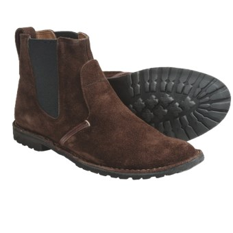 Timberland Earthkeepers Original Handcrafted Chelsea Boots - Suede (For Men) in Brown Suede