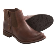 Timberland Earthkeepers Savin Hill Chelsea Boots - Recycled Materials (For Women) in Brown - Closeouts