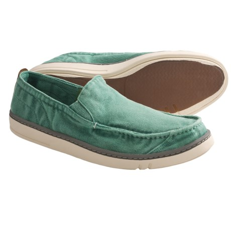 Timberland Earthkeepers Shoes - Canvas, Slip-Ons (For Men) in Green