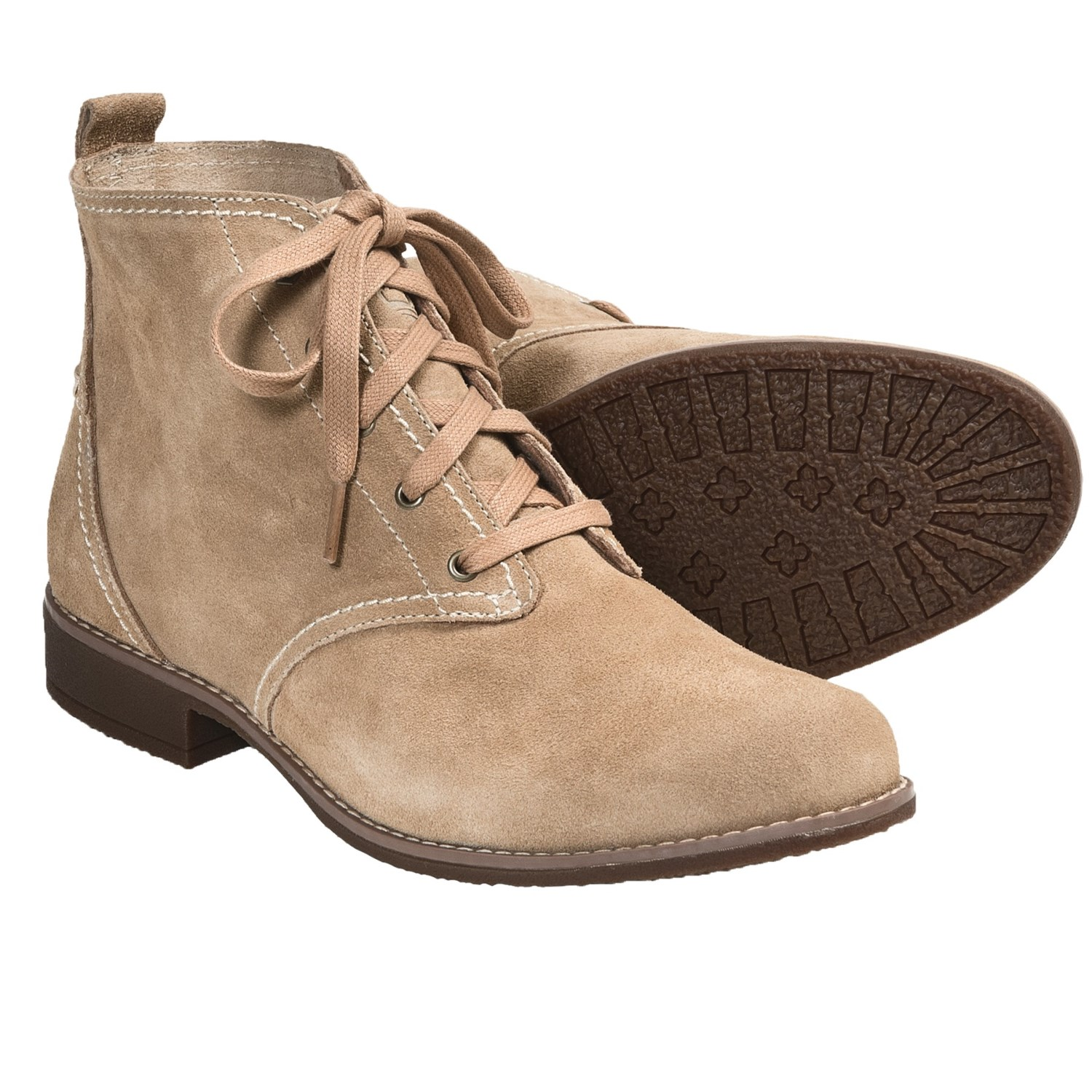 Timberland Earthkeepers Shoreham Desert Boots (For Women) in Tan Suede