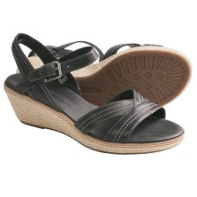 Timberland Earthkeepers Whittier Wedge Sandals (For Women) in Black - Closeouts