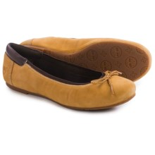 Timberland Ellsworth Ballerina Shoes - Nubuck (For Women) in Wheat - Closeouts