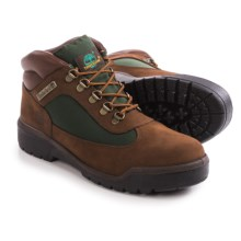 Timberland Field Boots - Nubuck (For Men) in Brown/Green - Closeouts