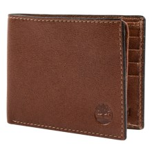 Timberland Fine Break Passcase Wallet - Leather in Clay - Closeouts