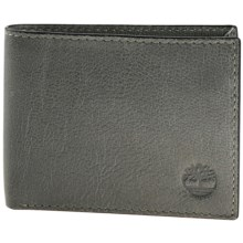 Timberland Fine Break Wallet - Leather in Concret - Closeouts