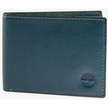 Timberland Fine Break Wallet - Leather in Ink - Closeouts