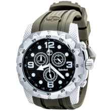 Timberland Front Country Chronograph Watch (For Men) in Light Green/Green - Closeouts