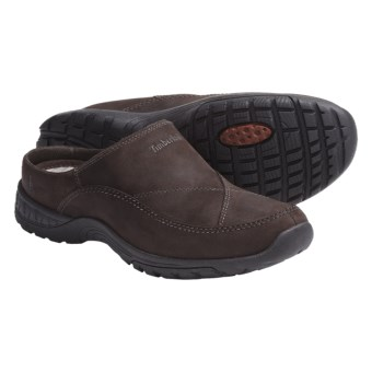 Timberland Front Country Clogs - Leather, SmartWool® Insole (For Men) in Brown Nubuck