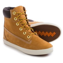 "Timberland Glastenbury Boots - Nubuck, 6"" (For Women) in Wheat - Closeouts"