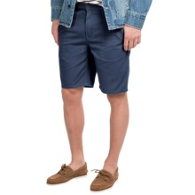 Timberland Grafton Lake Chino Shorts (For Men) in Black Iris - Closeouts
