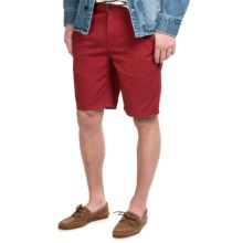 Timberland Grafton Lake Chino Shorts (For Men) in Red Dahlia - Closeouts