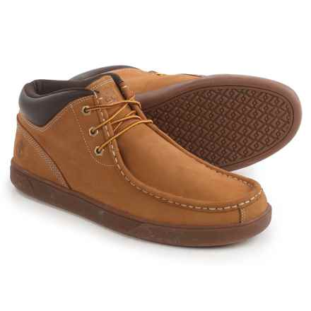 Timberland Groveton Moc-Toe Chukka Boots - Nubuck (For Men) in Wheat - Closeouts