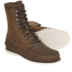 "Timberland Heritage Handsewn Boots - Leather, 8"" (For Men) in Brown"