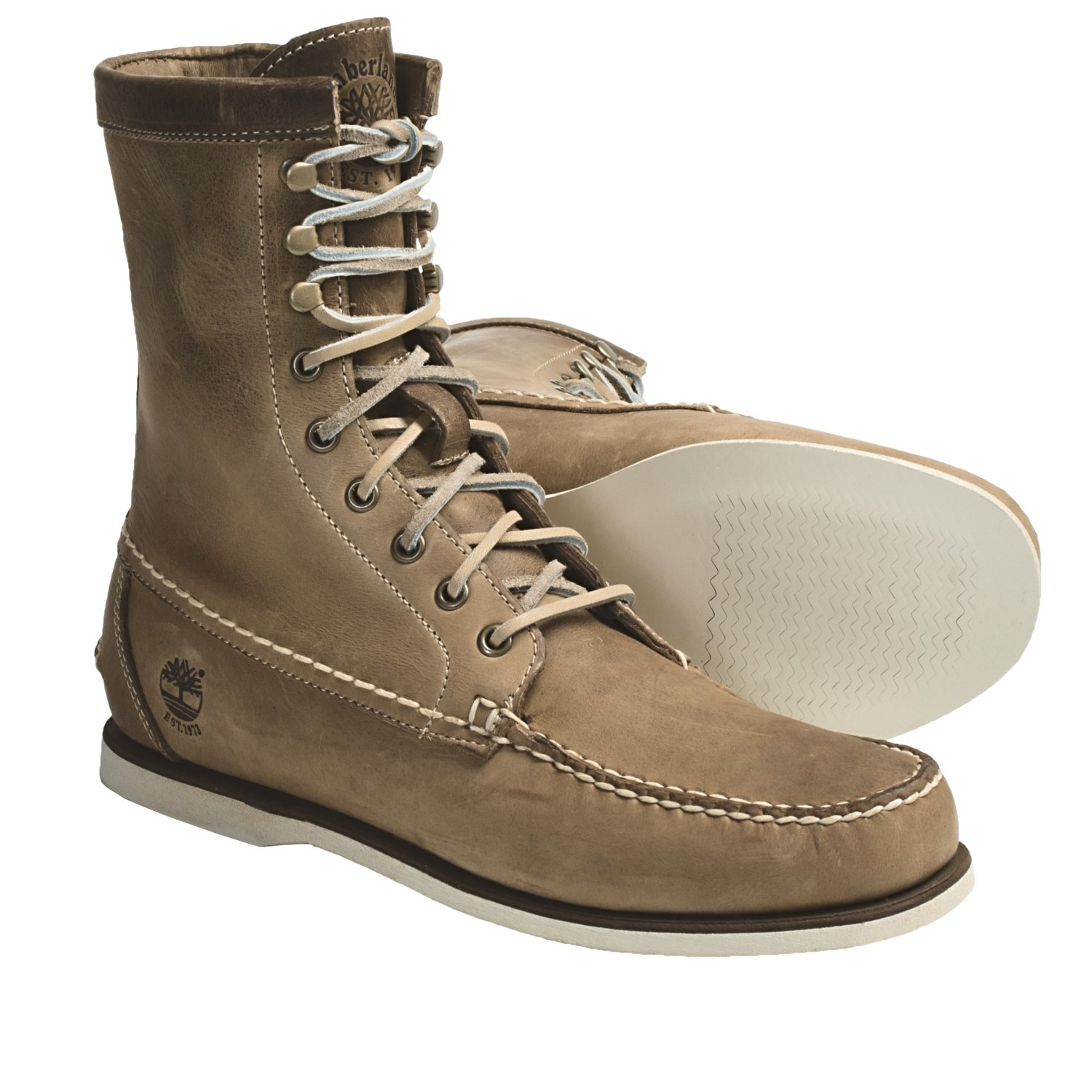 timberland heritage handsewn boots leather 8 for