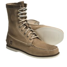 "Timberland Heritage Handsewn Boots - Leather, 8"" (For Men) in Taupe - Closeouts"