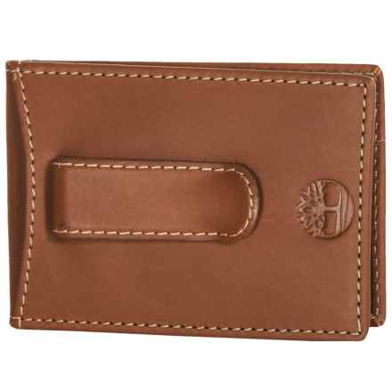 Timberland Hunter Flip Clip Pocket Wallet in Brown - Closeouts