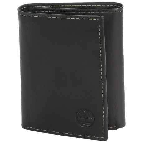 Timberland Hunter Leather Trifold Wallet