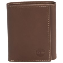 Timberland Hunter Leather Trifold Wallet in Brown - Closeouts