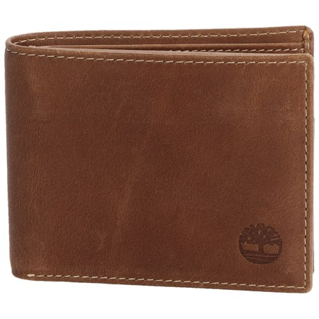 Timberland Hunter Passcase Wallet - Leather in Brown