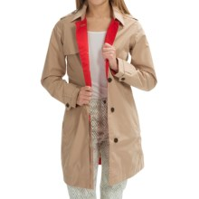Timberland HV Mount Liberty Trench Coat - Waterproof (For Women) in Travertine - Closeouts