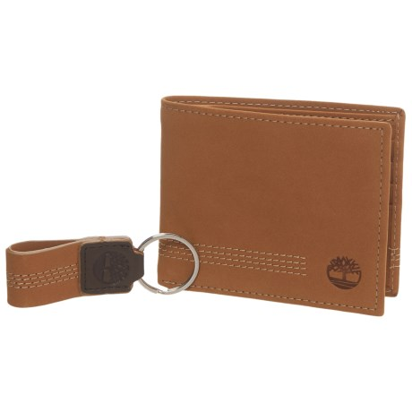 Timberland Icon Bi-Fold Wallet in Wheat