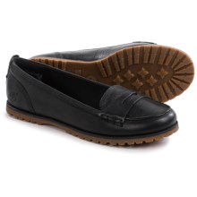 Timberland Joslin Penny Loafers - Nubuck (For Women) in Black - Closeouts