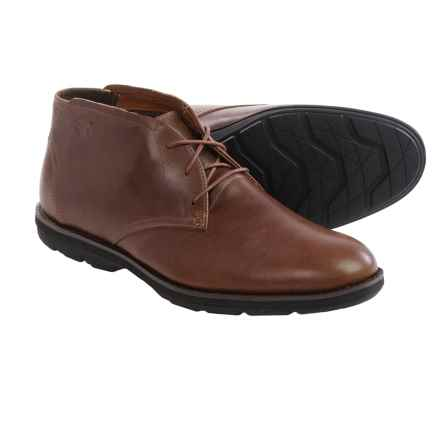 Timberland Kempton Leather Chukka Boots (For Men) in Dark Brown - Closeouts