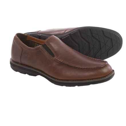 Timberland Kempton Shoes - Moc Toe, Slip-Ons (For Men) in Dark Brown - Closeouts