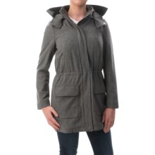 Timberland Kibby Mountain Wool Parka (For Women) in Charcoal Heather - Overstock