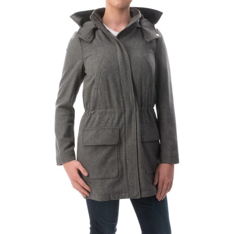 Timberland Kibby Mountain Wool Parka (For Women)