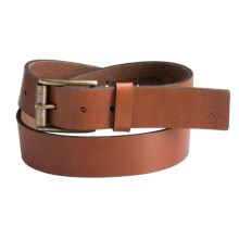 Timberland Leather Belt (For Men) in Cognac - Closeouts
