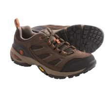 Timberland Ledge Low Hiking Shoes - Leather-Mesh (For Men) in Dark Brown - Closeouts