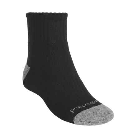 Timberland Lightweight Socks - 3-Pack, Quarter-Crew (For Men) in Black - Closeouts