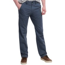 Timberland Locke Lake Twill Chino Pants - Straight Fit (For Men) in Black Iris - Closeouts