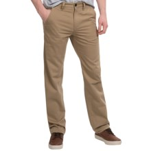 Timberland Locke Lake Twill Chino Pants - Straight Fit (For Men) in British Khaki - Closeouts