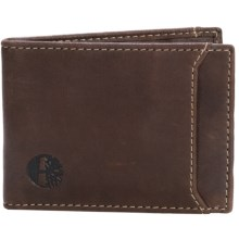 Timberland Marlboro Flip Clip Wallet in Brown - Closeouts