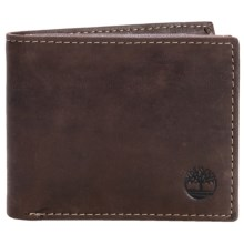 Timberland Marlboro Passcase Wallet in Brown - Closeouts