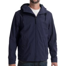 Timberland Mount Clay Hooded Bomber Jacket - Waterproof (For Men) in Black Iris - Closeouts